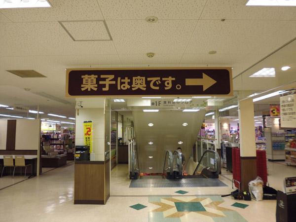スーパーマーケットの店内売り場案内のアイキャッチ画像
