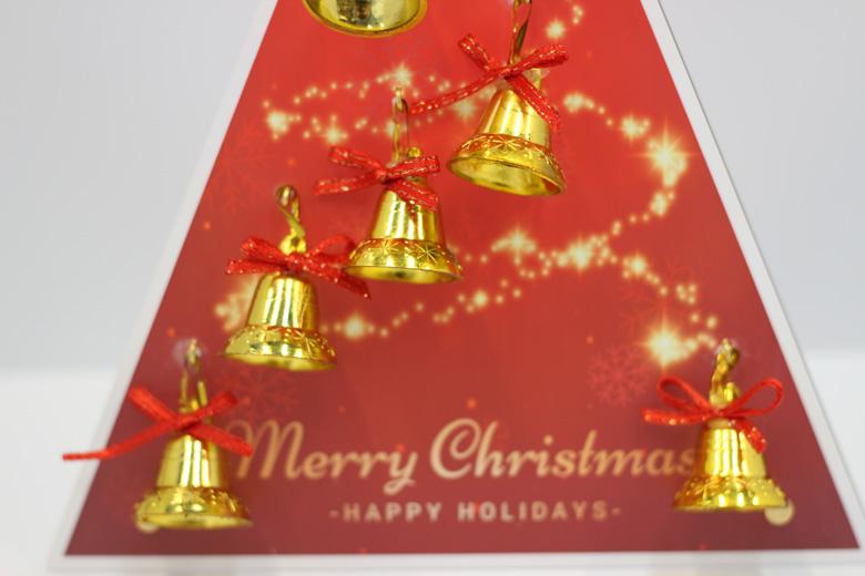 卓上クリスマスツリー引き画像
