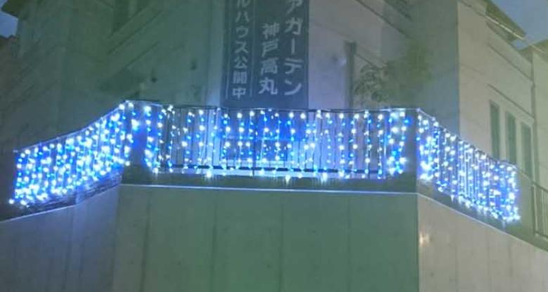 夜間LEDイルミネーションで宣伝効果アップ