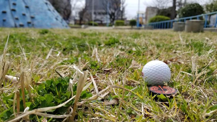 お気に入りゴルフマーカーを使う
